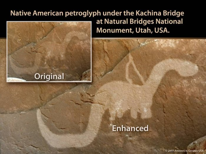 Kachina Bridge Sauropod