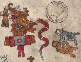Aztec Painting from Codex Vaticanus