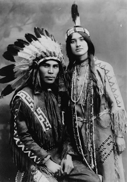Tlingit Couple