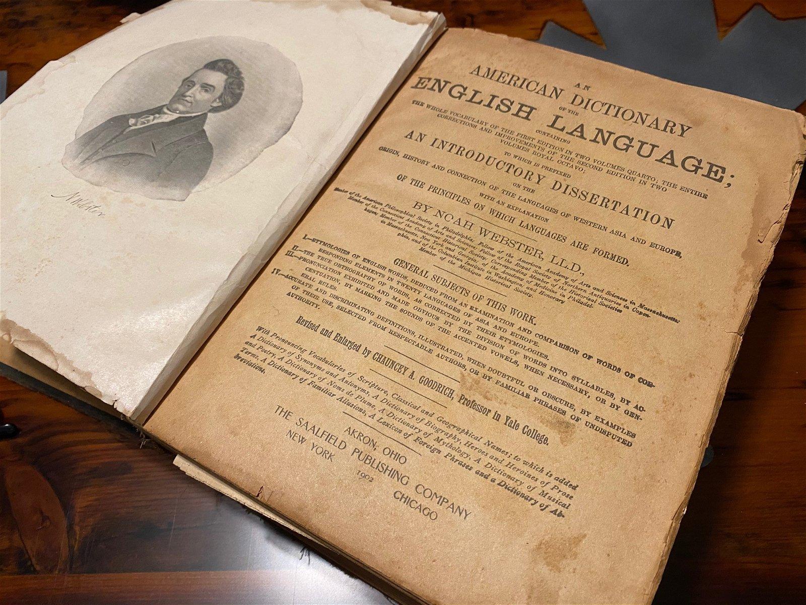Noah Webster's Dictionary