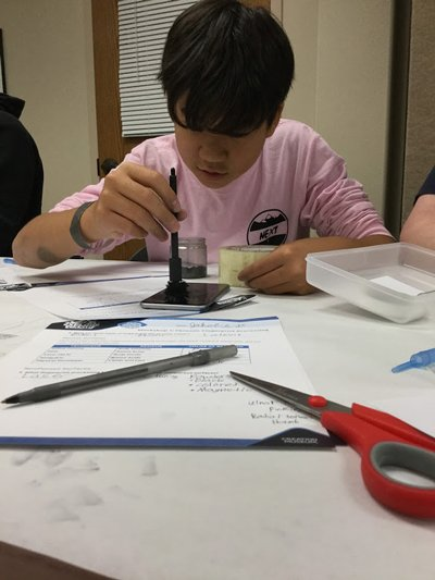 Exploring Fingerprints at Explore Camp