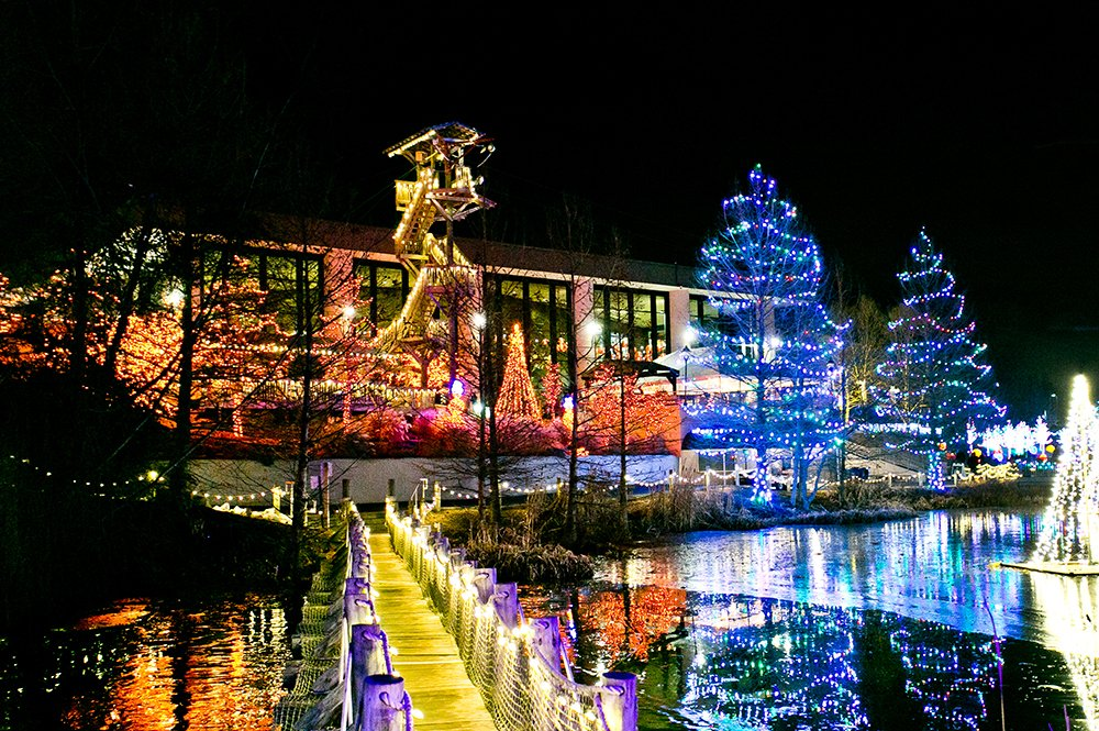 ChristmasTown Floating Bridge