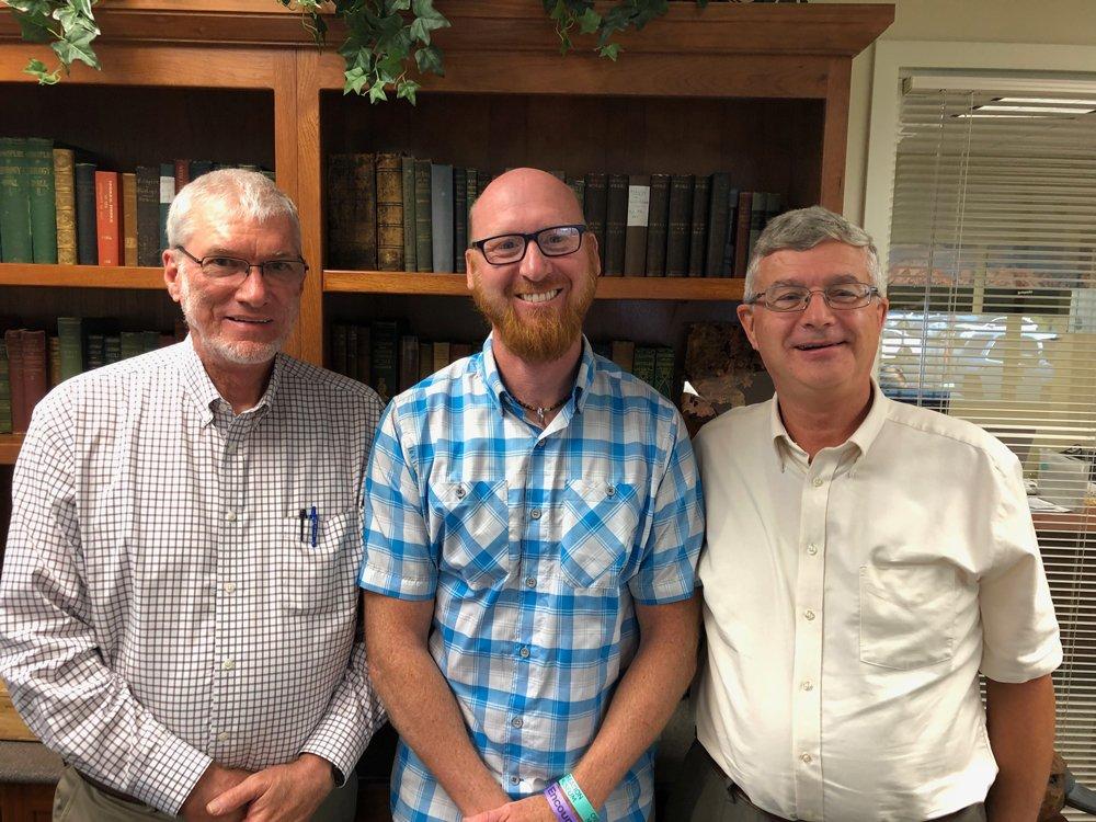 Ken, Jon, and Andrew
