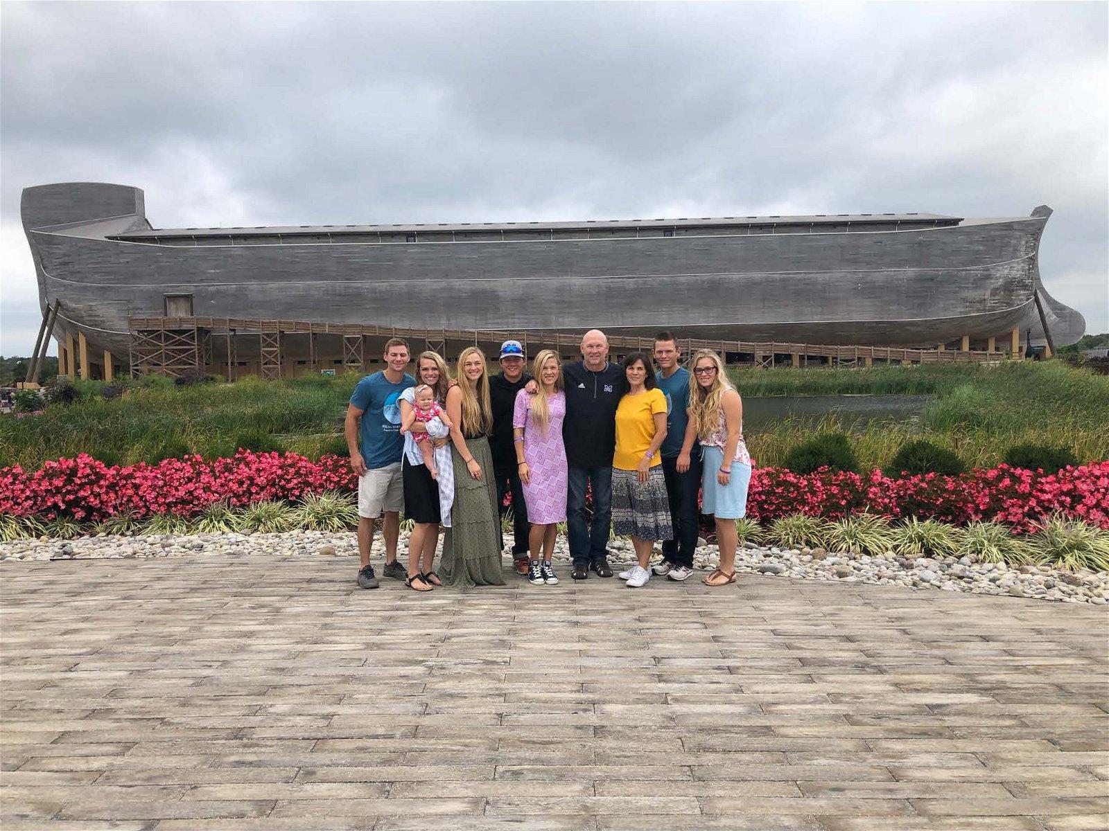 Kingery Family at the Ark