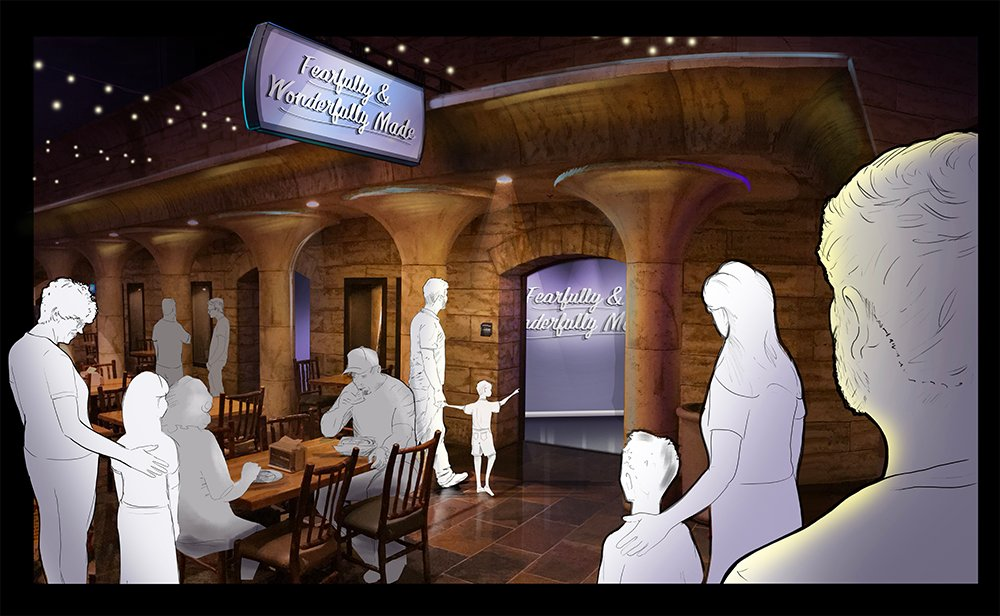 Exhibit Concept Art