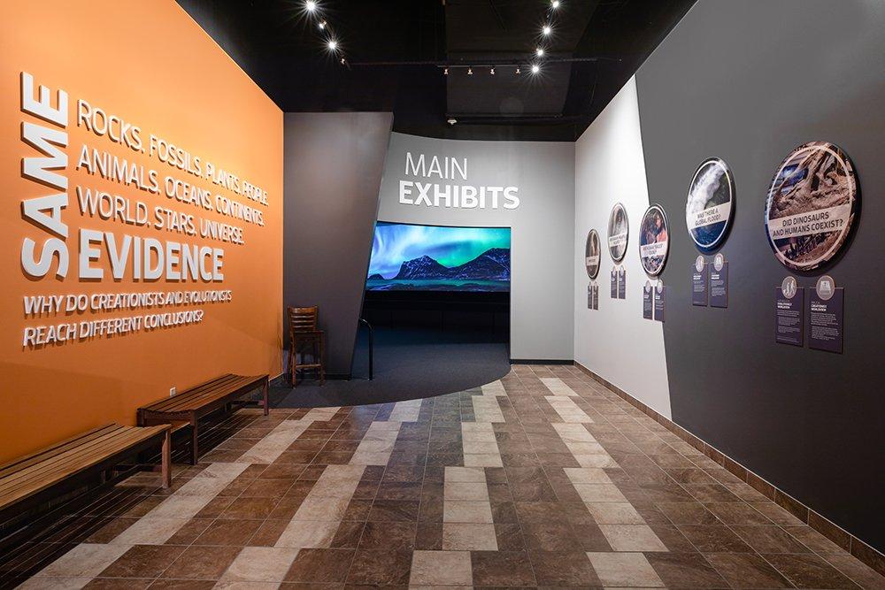 New Exhibits Entrance
