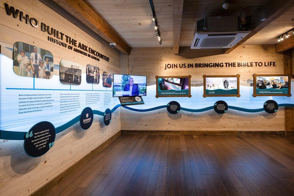 AiG History Exhibit