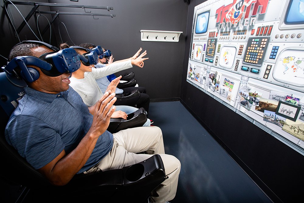 Ark Encounter Virtual Reality Truth Traveler Seats