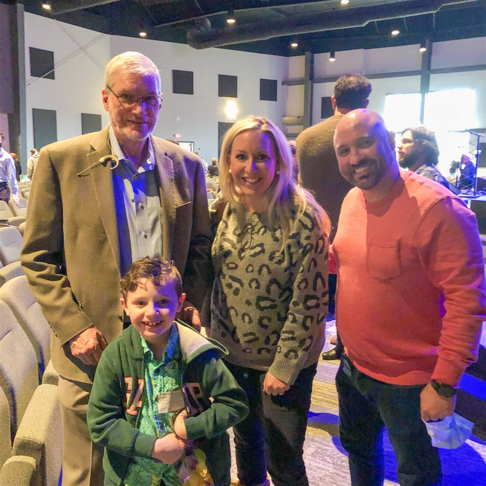 Ken Ham with Henry and Family