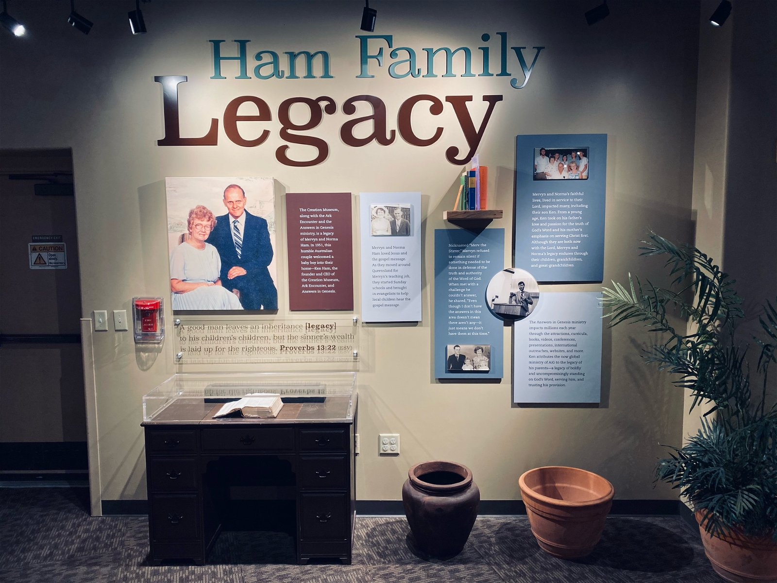 Ham Family Legacy Exhibit
