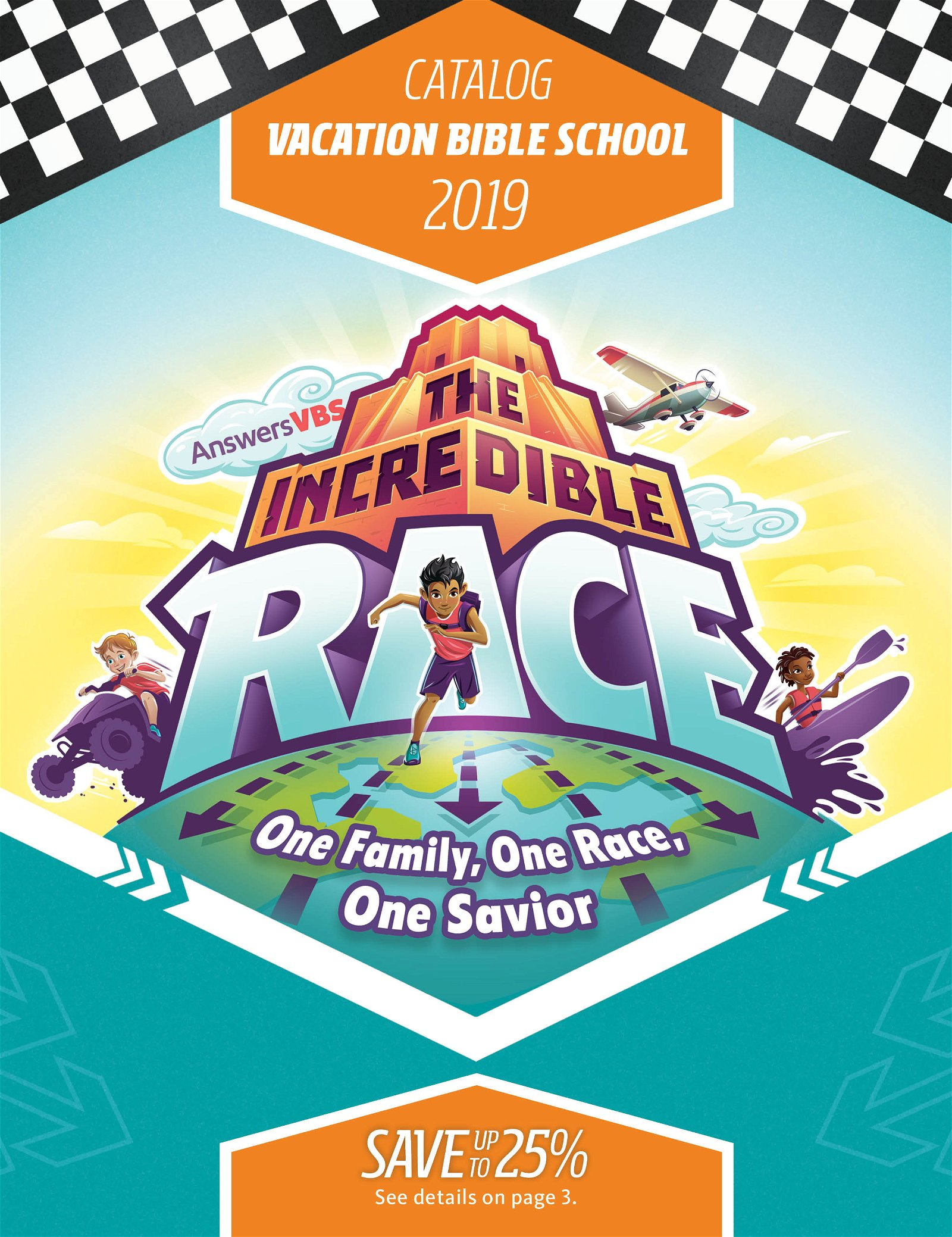 The Incredible Race VBS Catalog