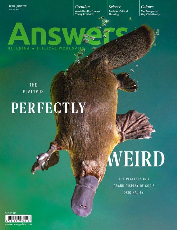 April–June 2021 Answers Magazine Cover