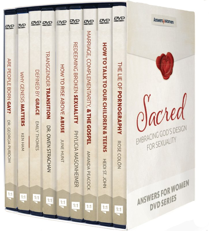 Sacred: Embracing God's Design for Sexuality Conference DVD Set