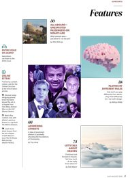 Table of contents: feature articles