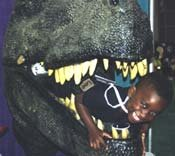 Boy with T-Rex