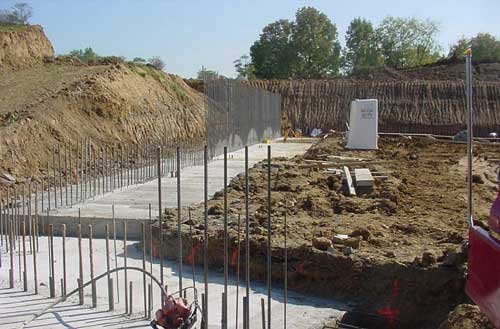 Footings for Foundation Wall