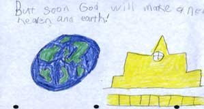 But soon God will make a new heaven and earth.