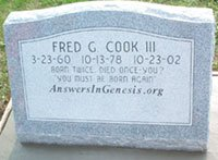 Fred Cook's evangelistic