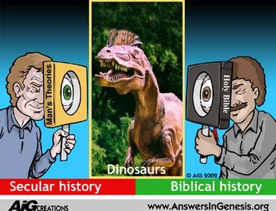 Secular history vs. Biblical history: A matter of perspective