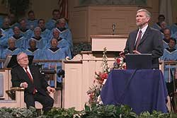 Ken Ham speaking at Thomas Road Baptist Church
