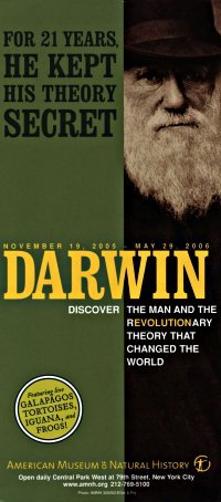 AMNH Darwin exhibit brochure