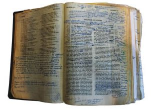 Ken Ham's Dad's Bible