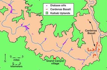 Radiometric dating of basaltic rocks are