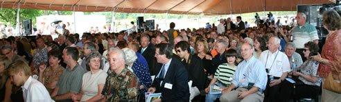 tent crowd