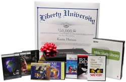 The prize package awarded to the grand prize winner