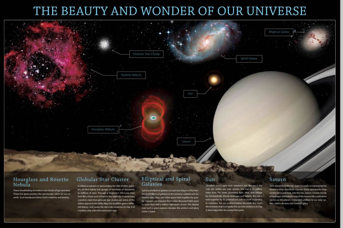 The Beauty and Wonder of Our Universe