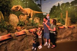 Family at the Creation Museum