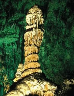 Cave formation