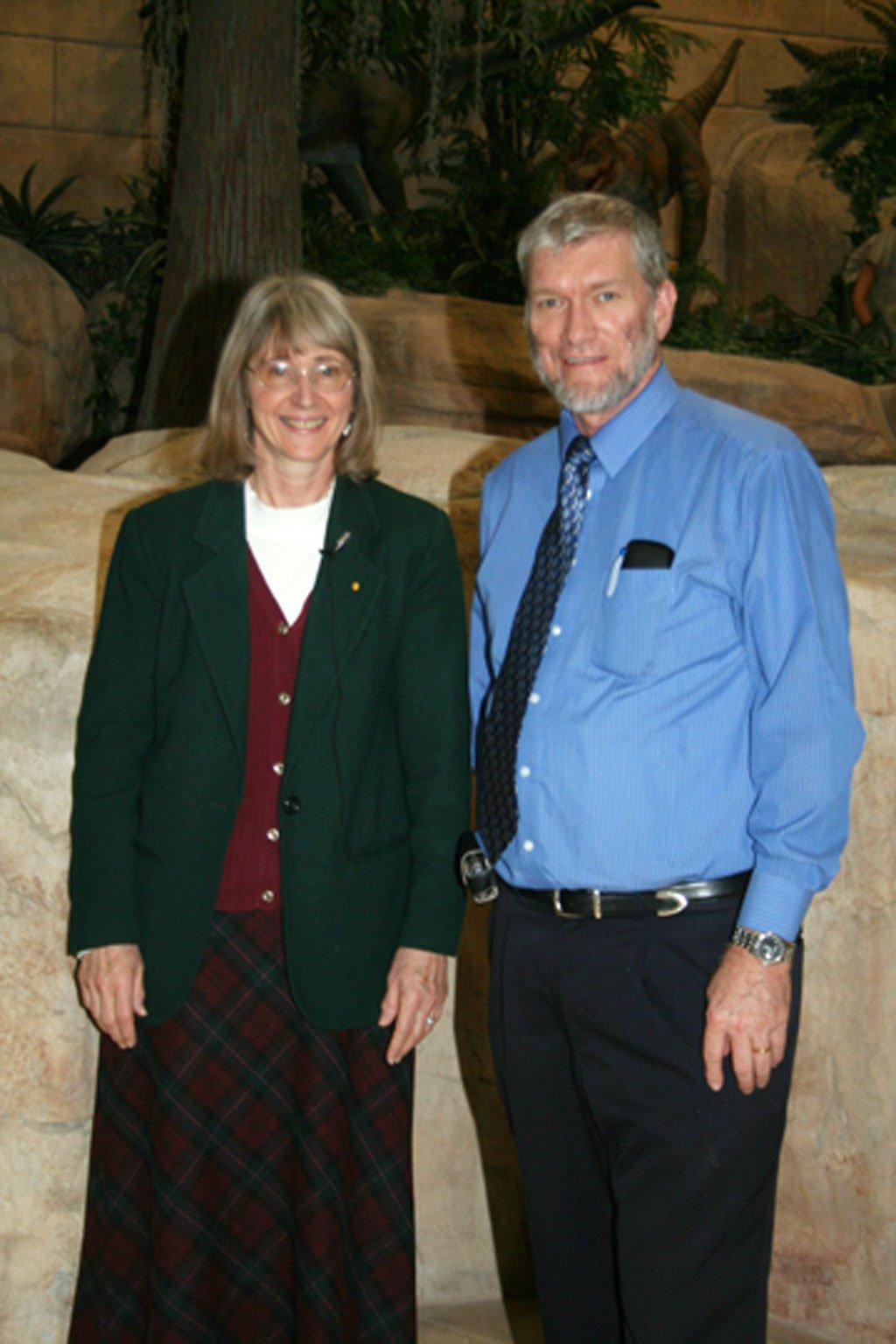 Eugenie Scott and Ken Ham