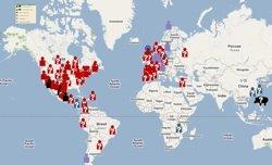 2009 Swine Flu Outbreak Map