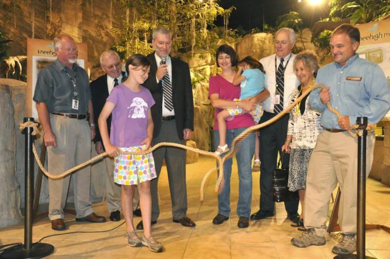 Dedication of Knee High Exhibit Creation Museum