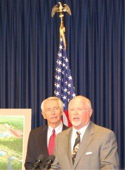 Kentucky Gov. Steve Beshear and Mike Zovath