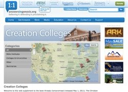 Creation Colleges site