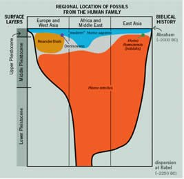 Human Fossils in Ice Age