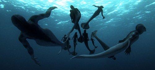 CGI mermaids