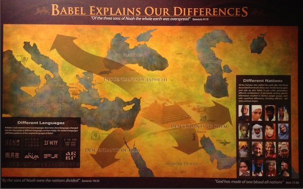 Babel map