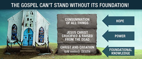 The Gospel Can't Stand Without Its Foundation