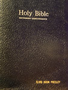 An Elvis Presley personal Bible