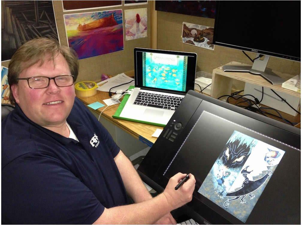 Artist Jon Taylor