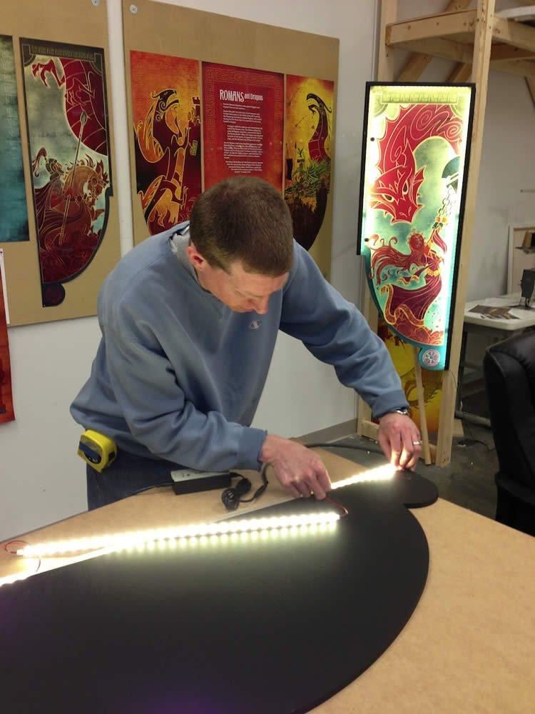 Harrison Craig and LED lighting