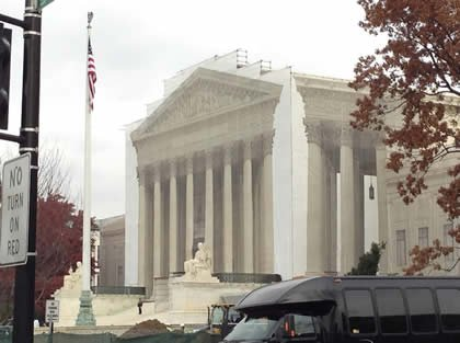 Supreme Court building west facade