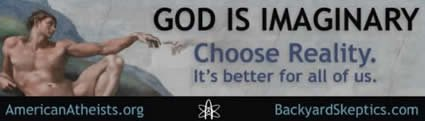 Atheist Billboard: Choose Reality