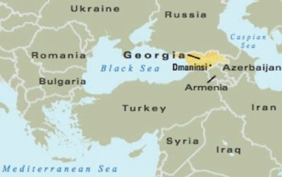Dmanisi Georgia Map.Does The Dmanisi Discovery Demonstrate We Are All One Family