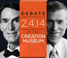 Ken Ham Debates Bill Nye