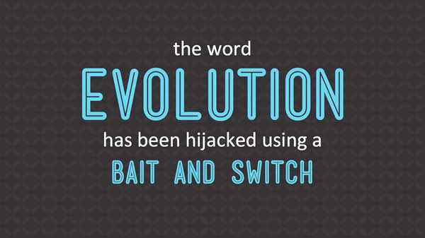 Evolution Bait and Switch