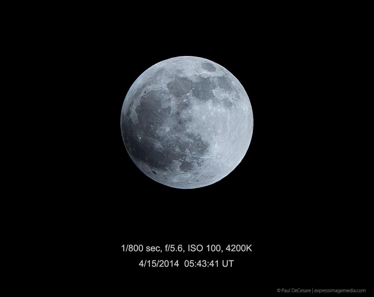 Penumbral moon